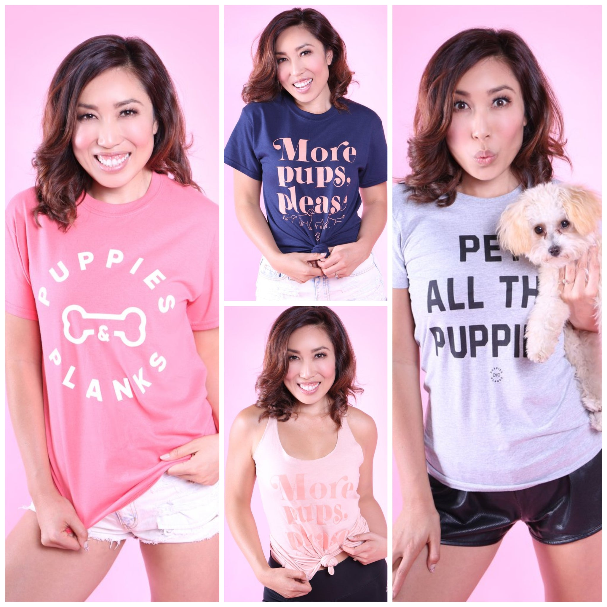 Puppies & Planks Shirts are Here!!