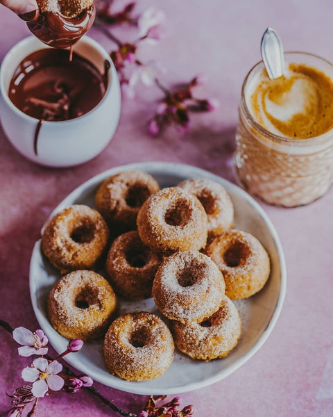 oven baked healthy donuts popflex