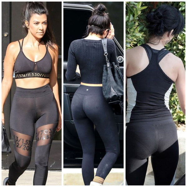 14adaab5e91927 Check out these celebs wearing different styles with their leggings - each  woman has her own style and they are all right! :)