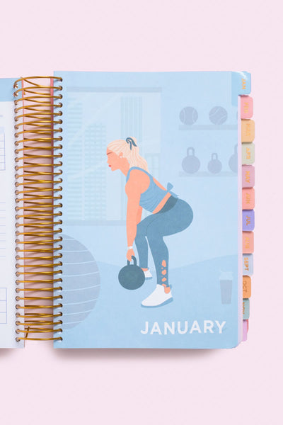 January fit planner