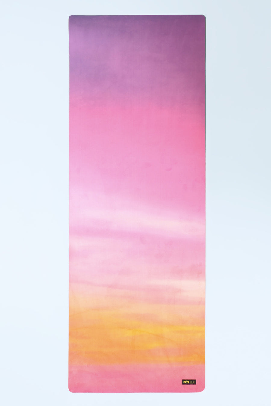 Sunset Vegan Suede Yoga Mat