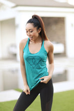 POP Logo Tank - Emerald