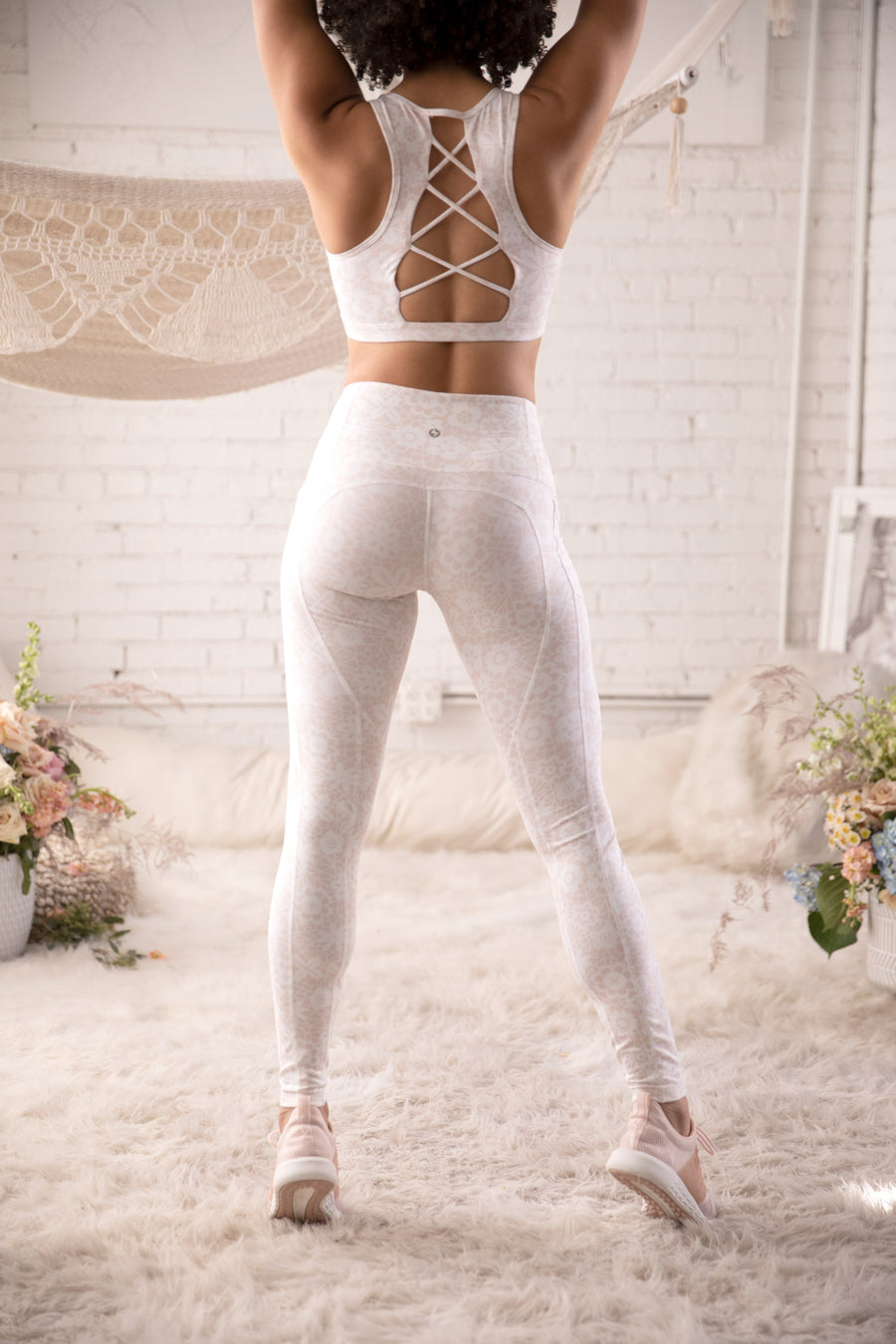 Corset Legging - French Lace