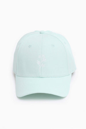 Sweet Sprig High Ponytail Cap - Mint