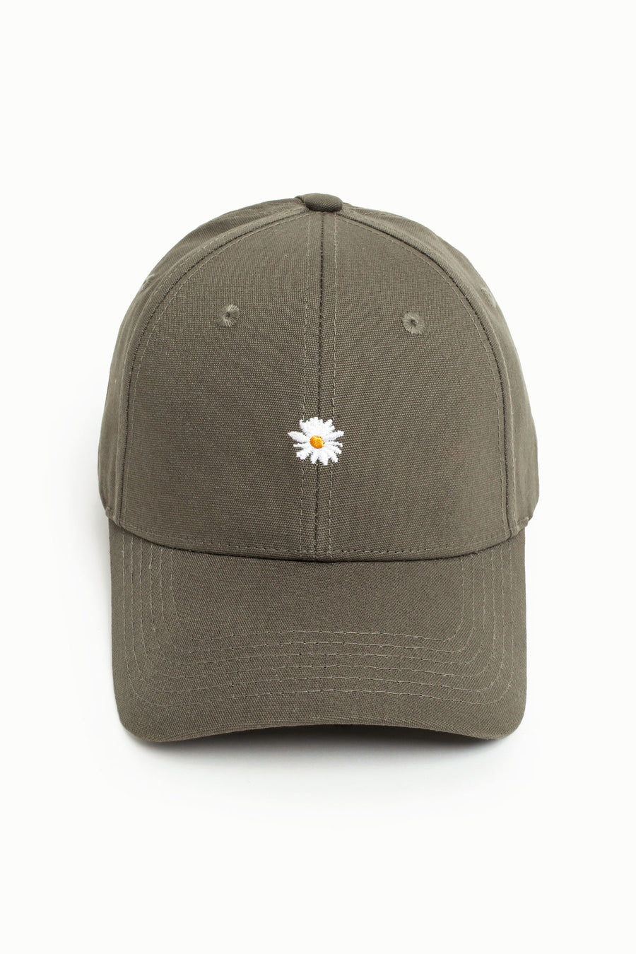 Dainty Daisy High Ponytail Cap - Rifle Green