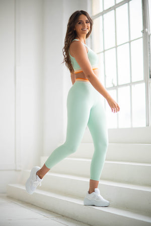 Believe 7/8 Leggings - Mint