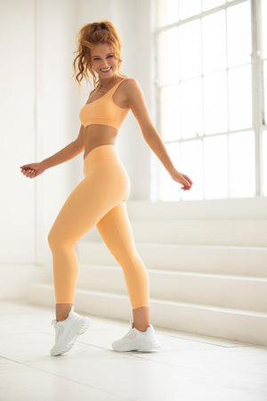 Tone 7/8 Leggings - Peach