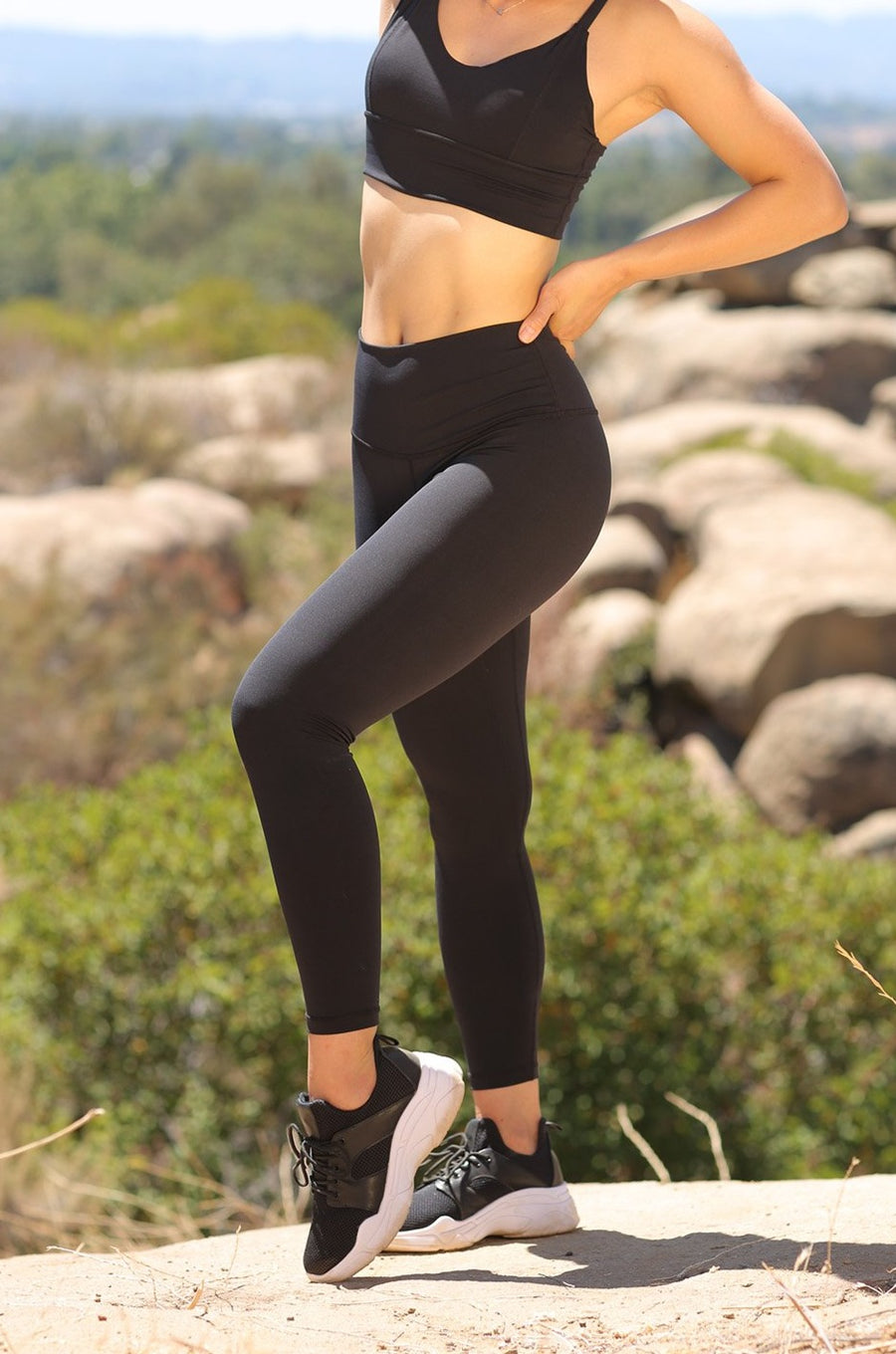 Alpine Legging (anti-camel toe) - Black