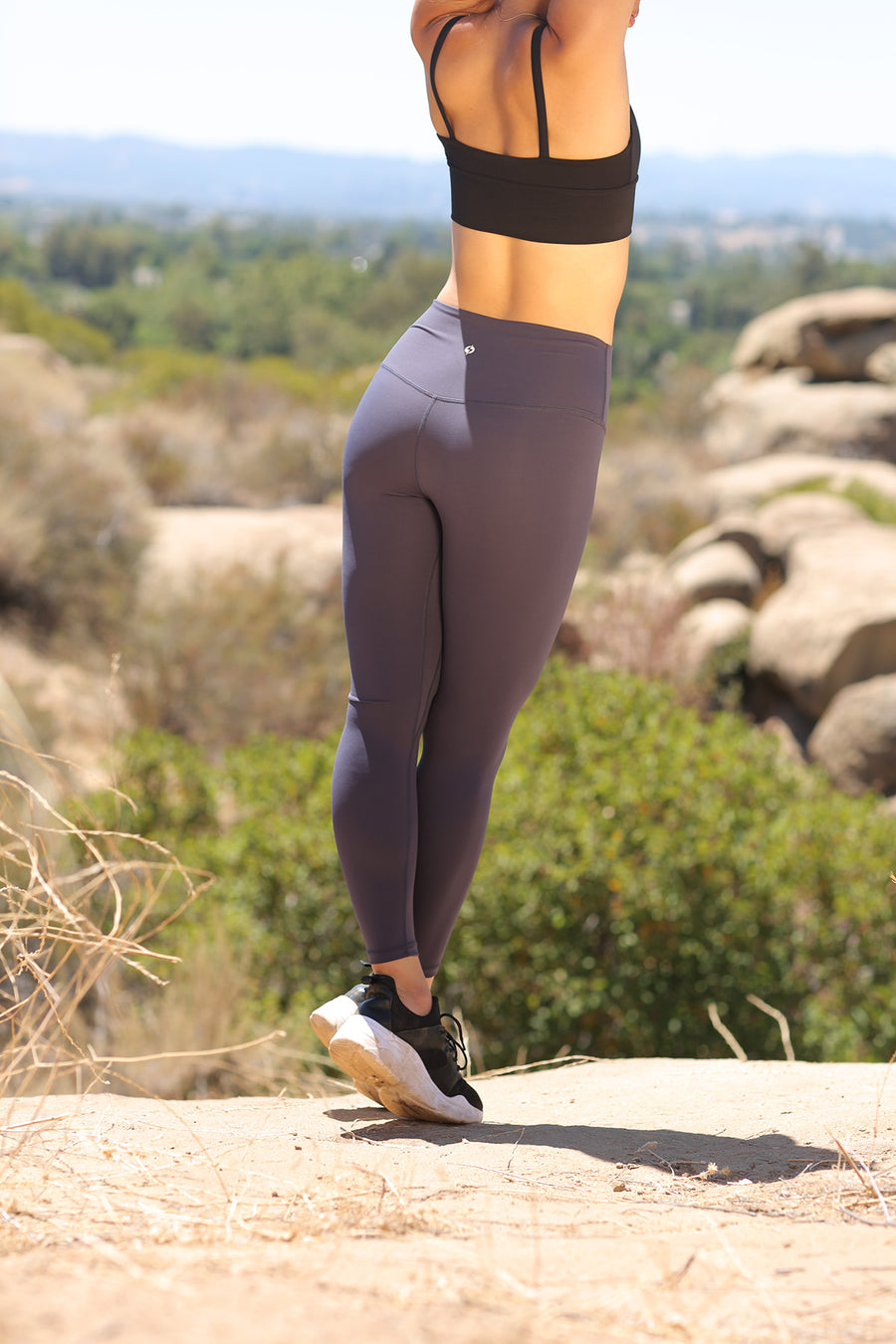 Alpine Legging (anti-camel toe) - Granite
