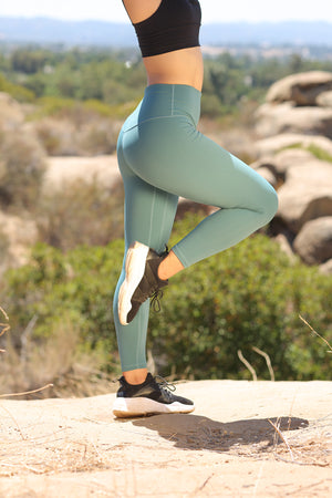 Alpine Legging (anti-camel toe)  - Moss