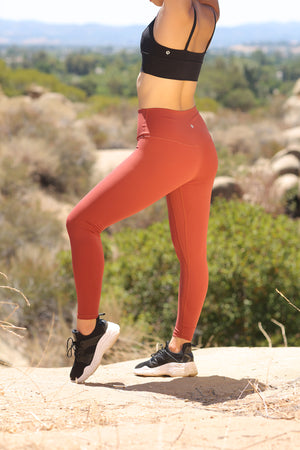 Alpine Legging (anti-camel toe) - Clay