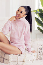 Tie-Dye Cropped Sweatshirt - Rose Quartz