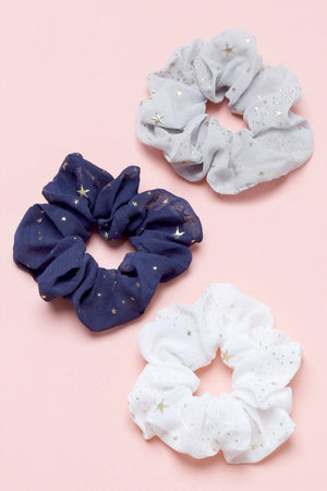 Star Scrunchie Set (3 Pack)