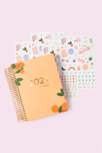 2021 Fit Planner + Stickers - Citrus