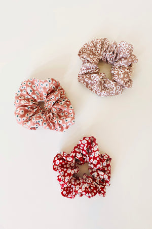 Baby Daisy Scrunchie Set - 3 pack
