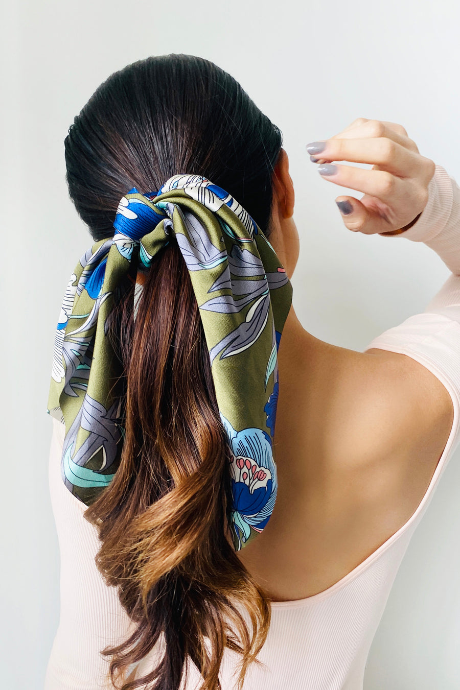 Garden Goddess Scarf Scrunchies - 2 pack