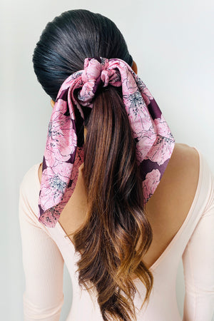 Romantic Scarf Scrunchies - 2 pack
