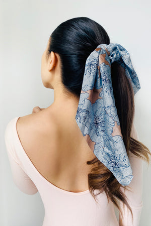 Calm Breeze Scarf Scrunchies - 2 pack