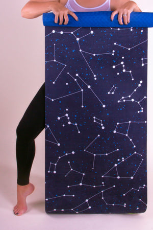 Constellation Vegan Suede Yoga Mat
