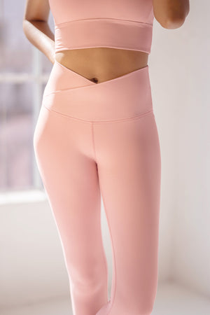 Hourglass Legging - Rose