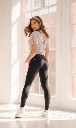 Hourglass Legging - Black