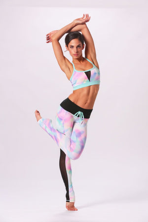 Set The Bar Bra - Mermaid Sports Bras