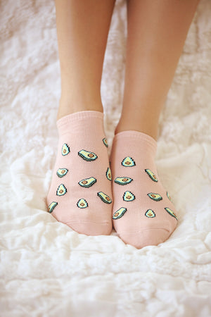 Teeny Tiny Avocado Socks