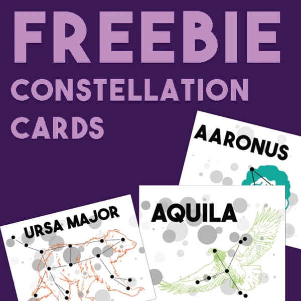FREEBIES: Constellation Cards