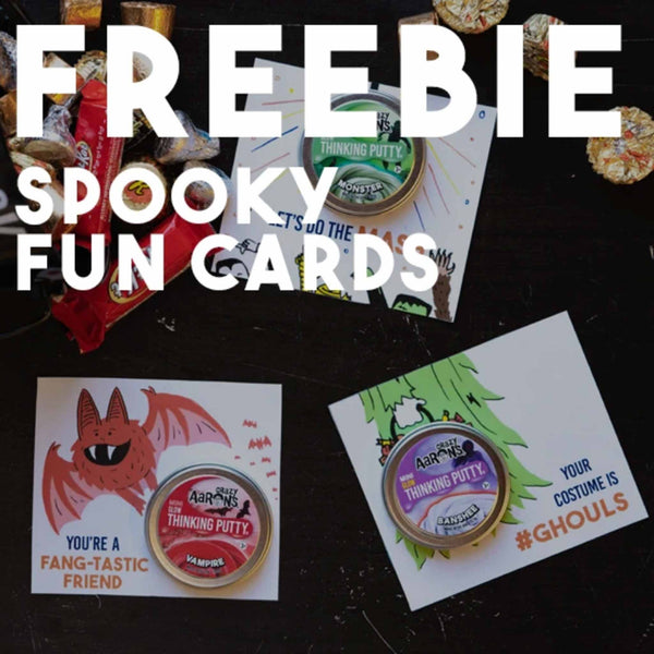 FREEBIES: Spooky Pun Cards