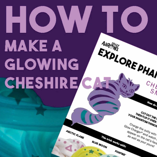 HOW TO: Make a Color Changing Cheshire Cat