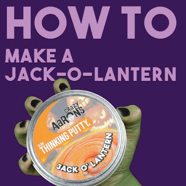HOW TO: Make a Putty Jack-o-lantern