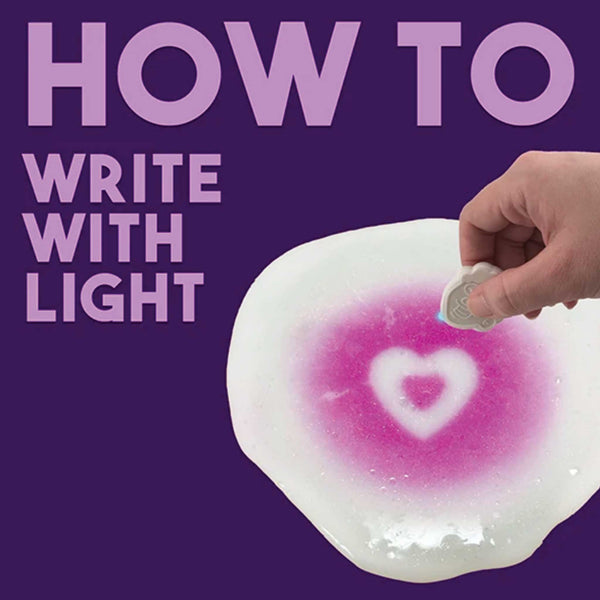 HOW TO: Write With Light on Thinking Putty