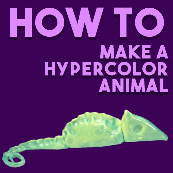 HOW TO: Create a Hypercolor Animal