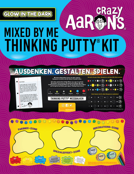 Glow in the Dark Mixed by Me Kit (German)