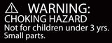 Amber Warning Label