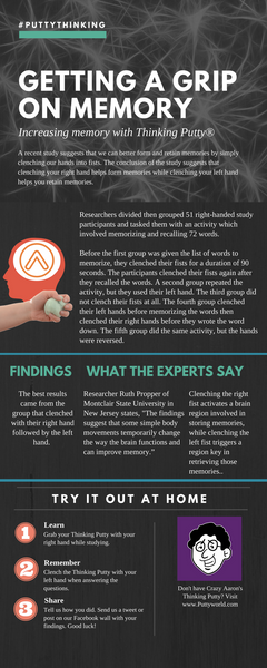 getting a grip on memory infographic
