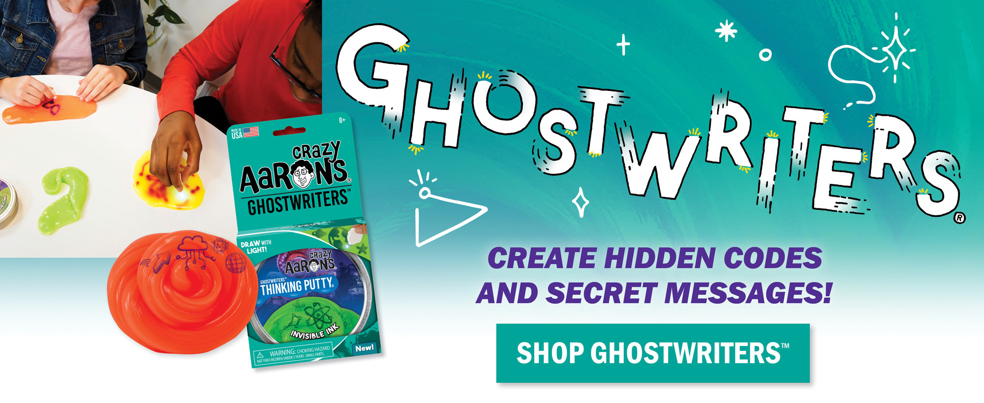 Ghostwriters Thinking Putty | DIY Toy