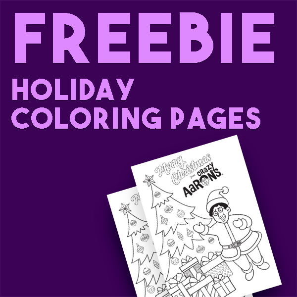 Free Holiday Coloring book Pages