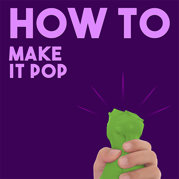 How-To: Make Thinking Putty Pop