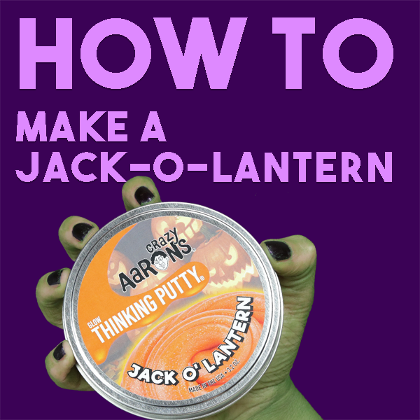 Explore Thinking Putty | How to Make a Jack-o-lantern