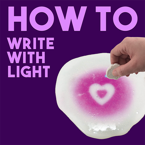 How-To: Write with Light on Thinking Putty