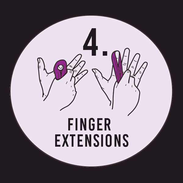 Thinking Putty Finger Extension Exercise