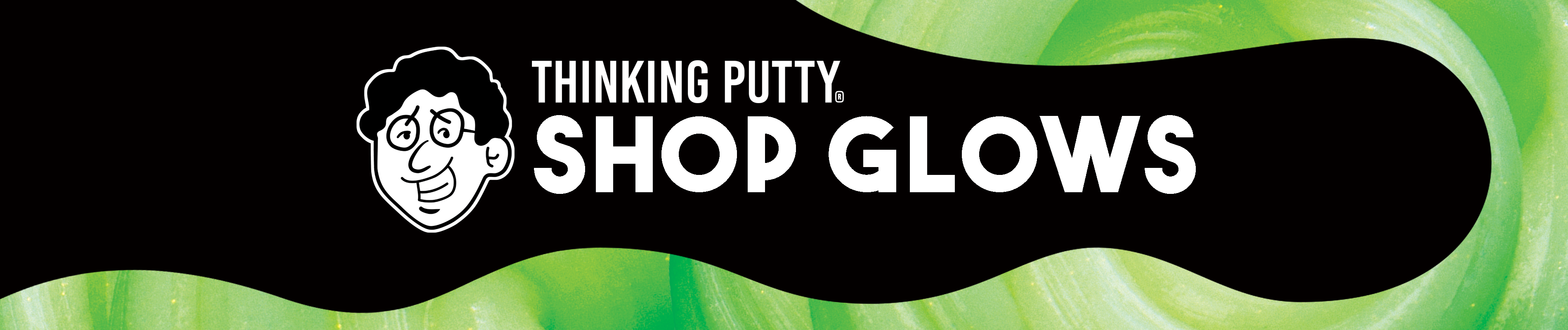 Shop Glow in the Dark Thinking Putty