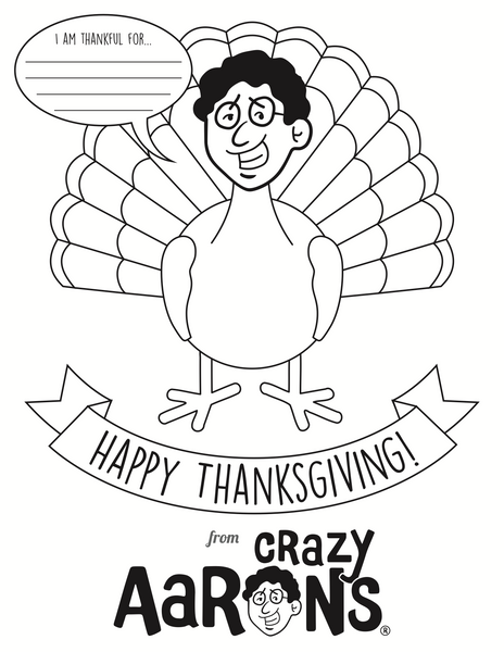 Happy Thanksgiving from Crazy Aaron's Puttyworld