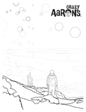 crazy aaron arctic flare coloring page