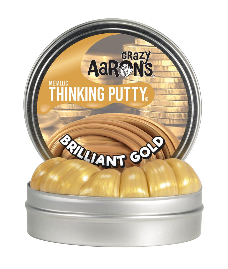 Brilliant Gold | Metallic Thinking Putty
