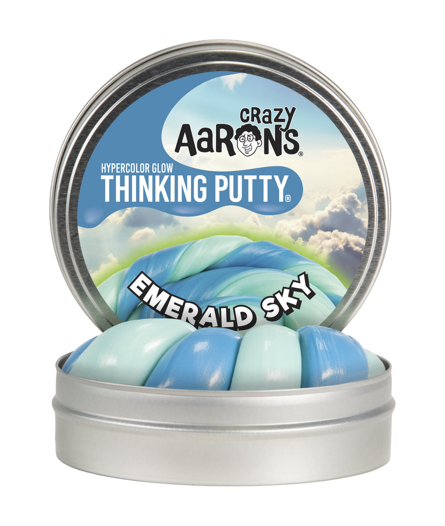 Emerald Sky Hypercolor Thinking Putty