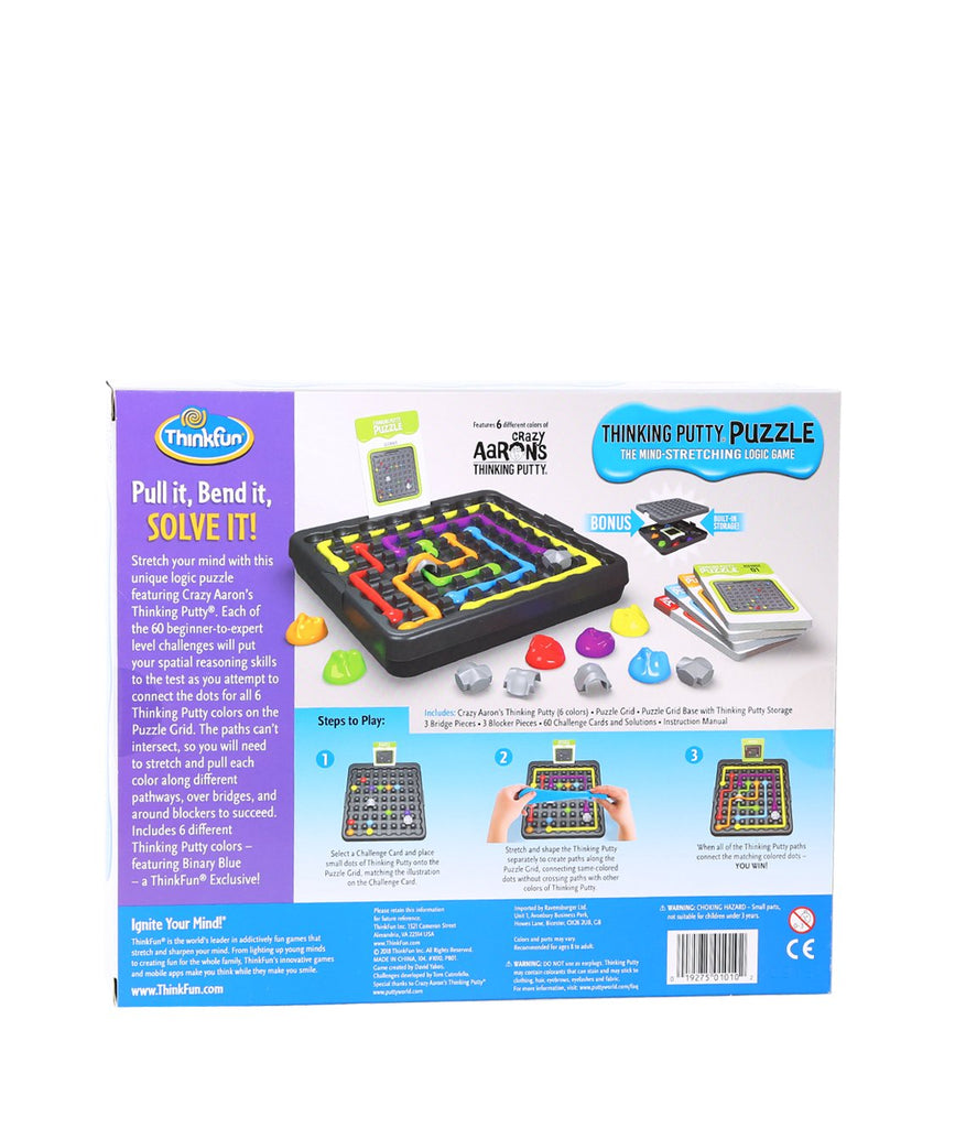 Think Fun's Thinking Putty Puzzle Game