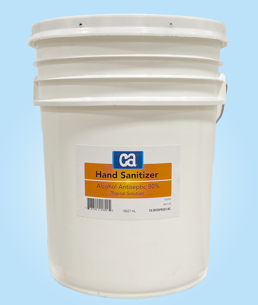 Hand Sanitizer - 5 Gallon Tub