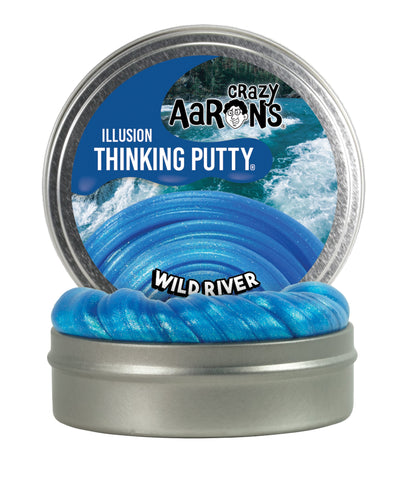 Natural Impressions Crazy Aarons Thinking Putty 4 Tin Rainforest